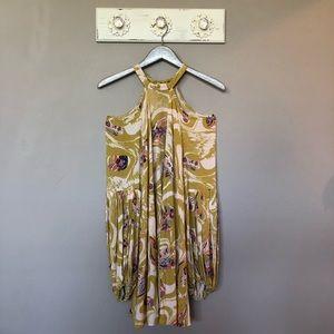 Free People   Yellow Drift Away Tunic / Dress